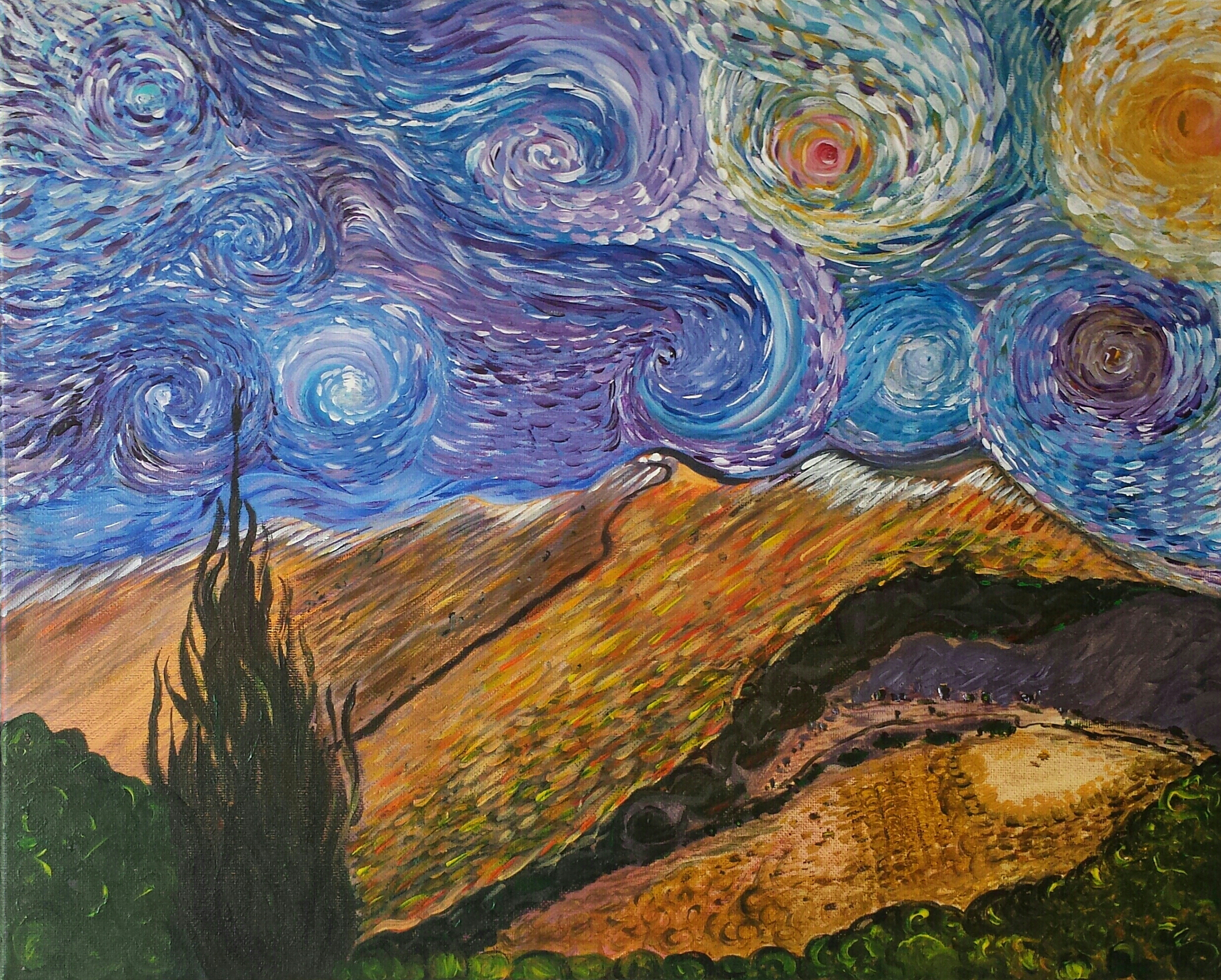 Orion: In the Spirit of Gogh